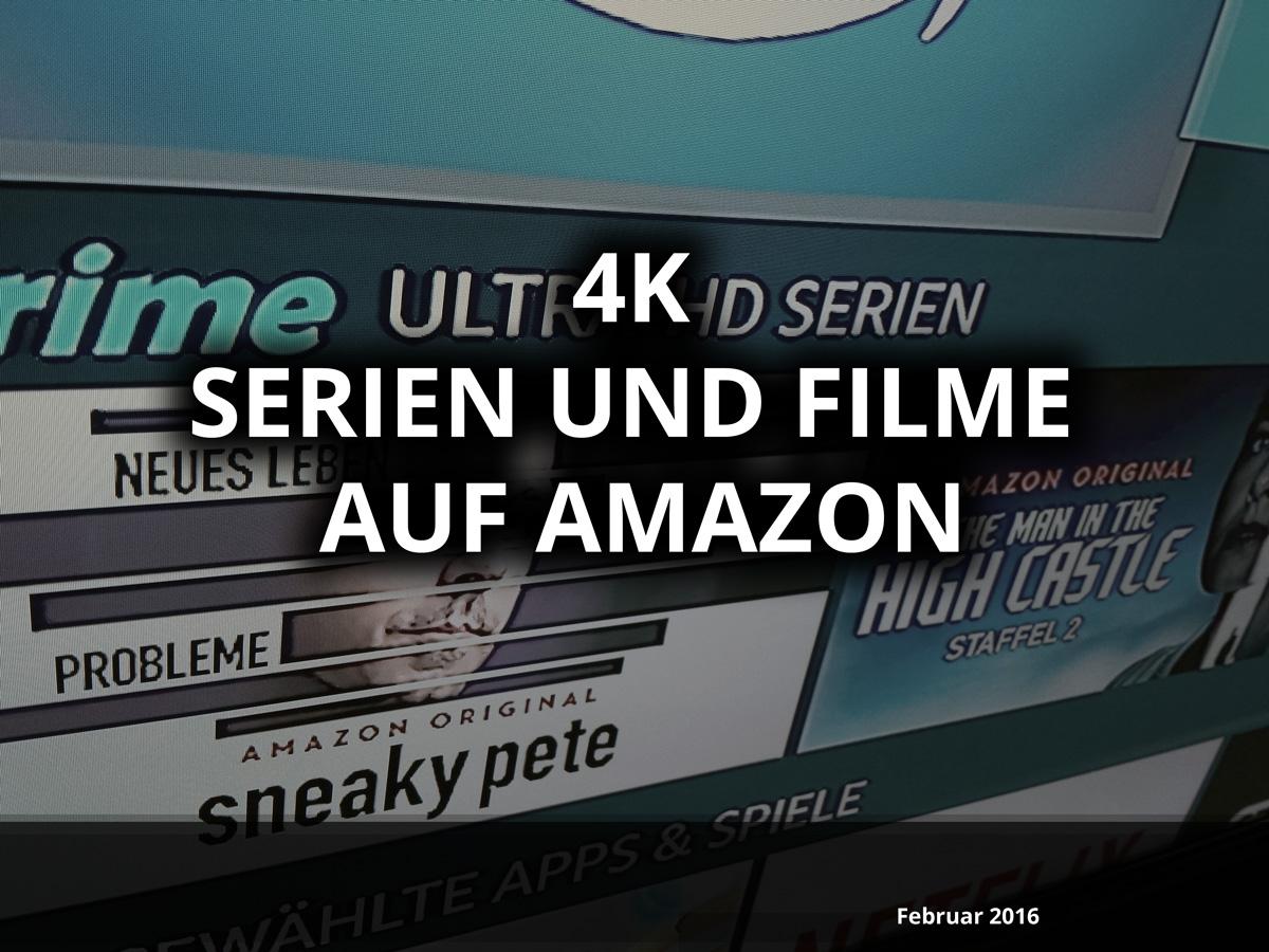 Liste mit Allen 4K Videos und Serien