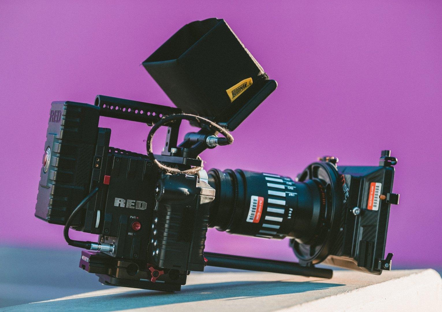 Red Kamera für 4K Produktionen