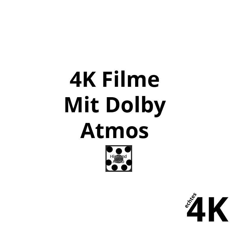 Alle Dolby Atmos Filme in einer Liste