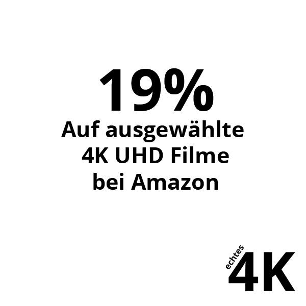19% Rabatt auf ausgewählte 4K Filme